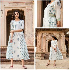 Jaipuri Cotton Printed Kurti 05