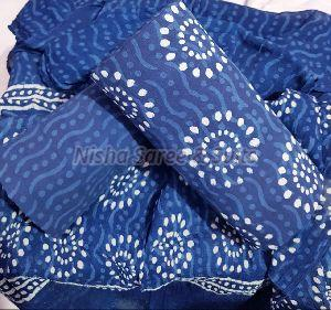 Jaipuri Cotton Unstitched Suit 32