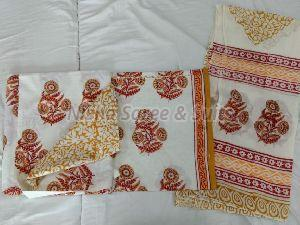 Jaipuri Cotton Unstitched Suit 36