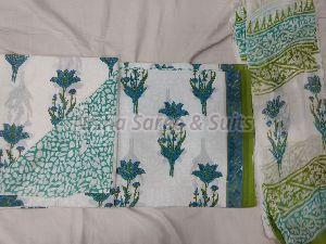 Jaipuri Cotton Unstitched Suit 37