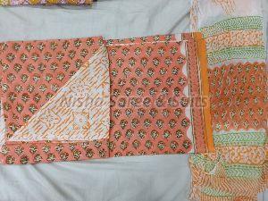Jaipuri Cotton Unstitched Suit 38
