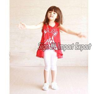 Girl Sleeveless Top