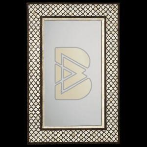 Bone Inlay Moroccan Design Mirror