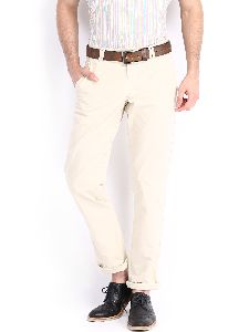 Mens White off Trousers