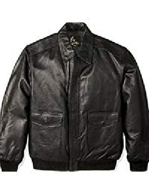 Mens Leather Flight Jacket 01