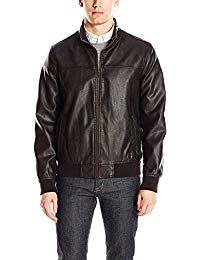 Mens Lambskin Black Leather Biker Jacket