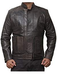 Mens Vintage Lambskin Black Leather Jacket