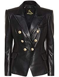 Womens Lambskin Classic Leather Biker Jacket