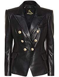 Womens Lambskin Classic Leather Biker Jacket