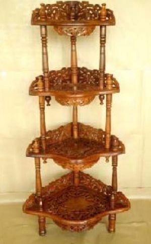 Wooden Corner Table 05
