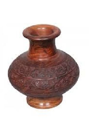 Wooden Flower Pot 04