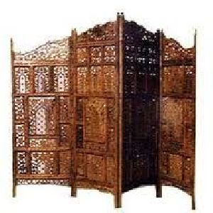 Wooden Partition 02