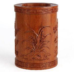 Wooden Pen Pots