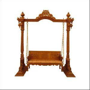 Wooden Swing 02
