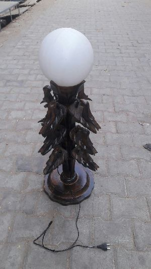 Wooden Table Lamp 03