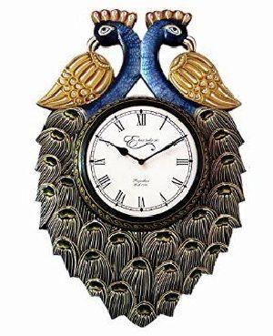 Wooden Wall Clock 01