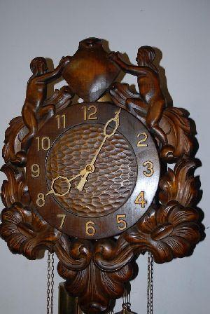 Wooden Wall Clock 02