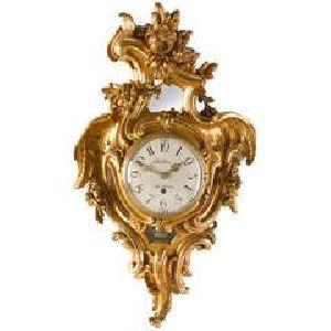 Wooden Wall Clock 04