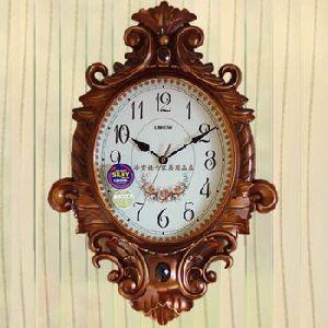 Wooden Wall Clock 08