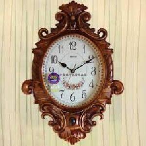 Wooden Wall Clock 12