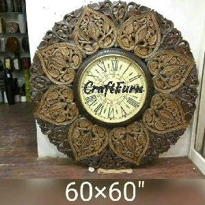 Wooden Wall Clock 18