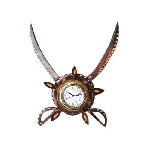 Wooden Wall Clock 33