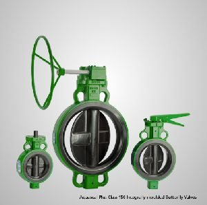 Integrally moulded Butterfly Valve