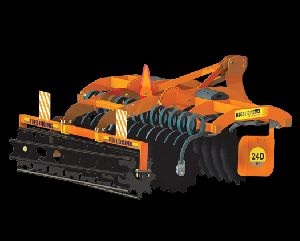 High Speed Disc Harrow ploughing