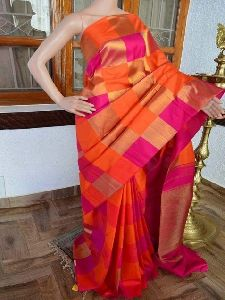 Modern Multi Color Soft Silk Saree - sd806