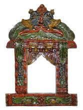 Carved Wooden Jharokha