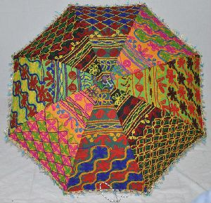 Hand Embroidered Umbrellas