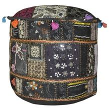 Patchwork Ottoman Covers