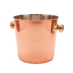 Copper Plated Stainless Steel Wine Cooler