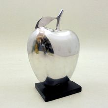 Metal Aluminium Table Top Decorative Apple