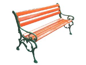 Beautiful Garden Cast Iron Garden Bench
