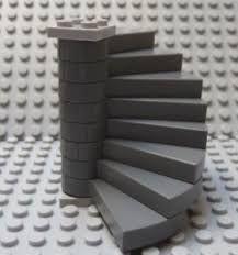 Bluish Spiral Stairs