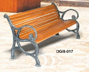 Decentive Cast Iron Garden Bench