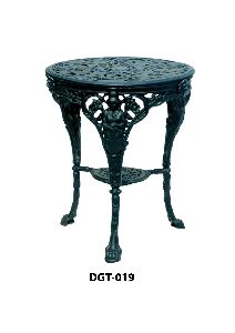DGT-019 Cast Iron Round Table