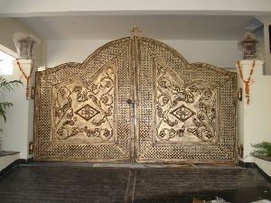 Gold MS Decorative Gate