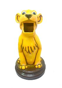 Small Size Baby Lion Dustbin