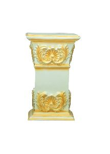 White Golden Shade Side Table