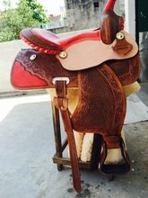 Leather Western Saddle Event