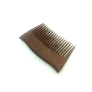Pocket Size Wooden Beard Comb
