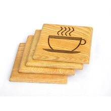 Traditional Wood Coaster