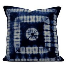 hand dyed print cushion cover