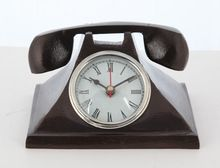 Telephone Table Clock