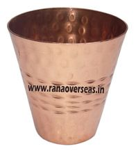 Pure Copper Hammered Shot Glass