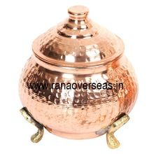 Pure Copper Tea Sugar Spices and Coffee Canisters