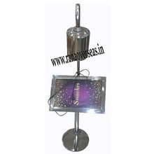 Stainless Steel Table Top Name Tag Stands