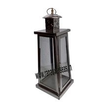 Steel Glass Large Hanging Lanterns